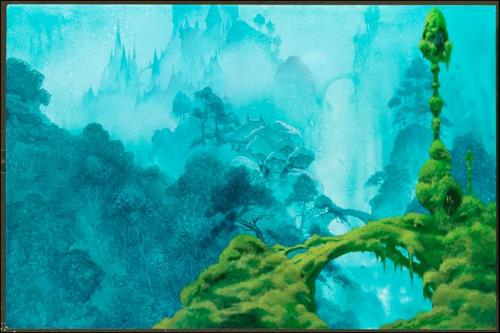 """Edgar Forest Village"" by Roger Dean"