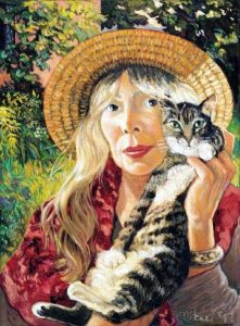 Pintura de Joni Mitchell