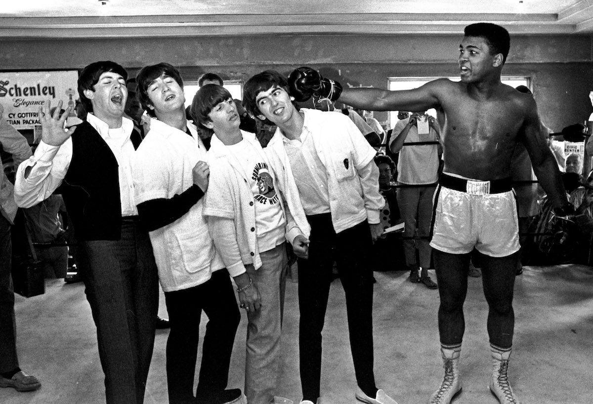Cassius Clay vs The Beatles