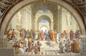 La escuela de Atenas de Rafael