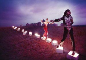 An illuminating path por David LaChapelle
