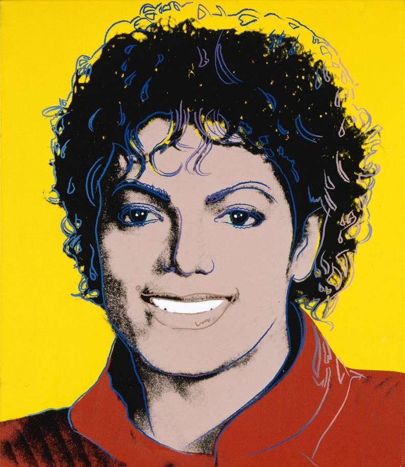 Michael Jackson por Andy Warhol