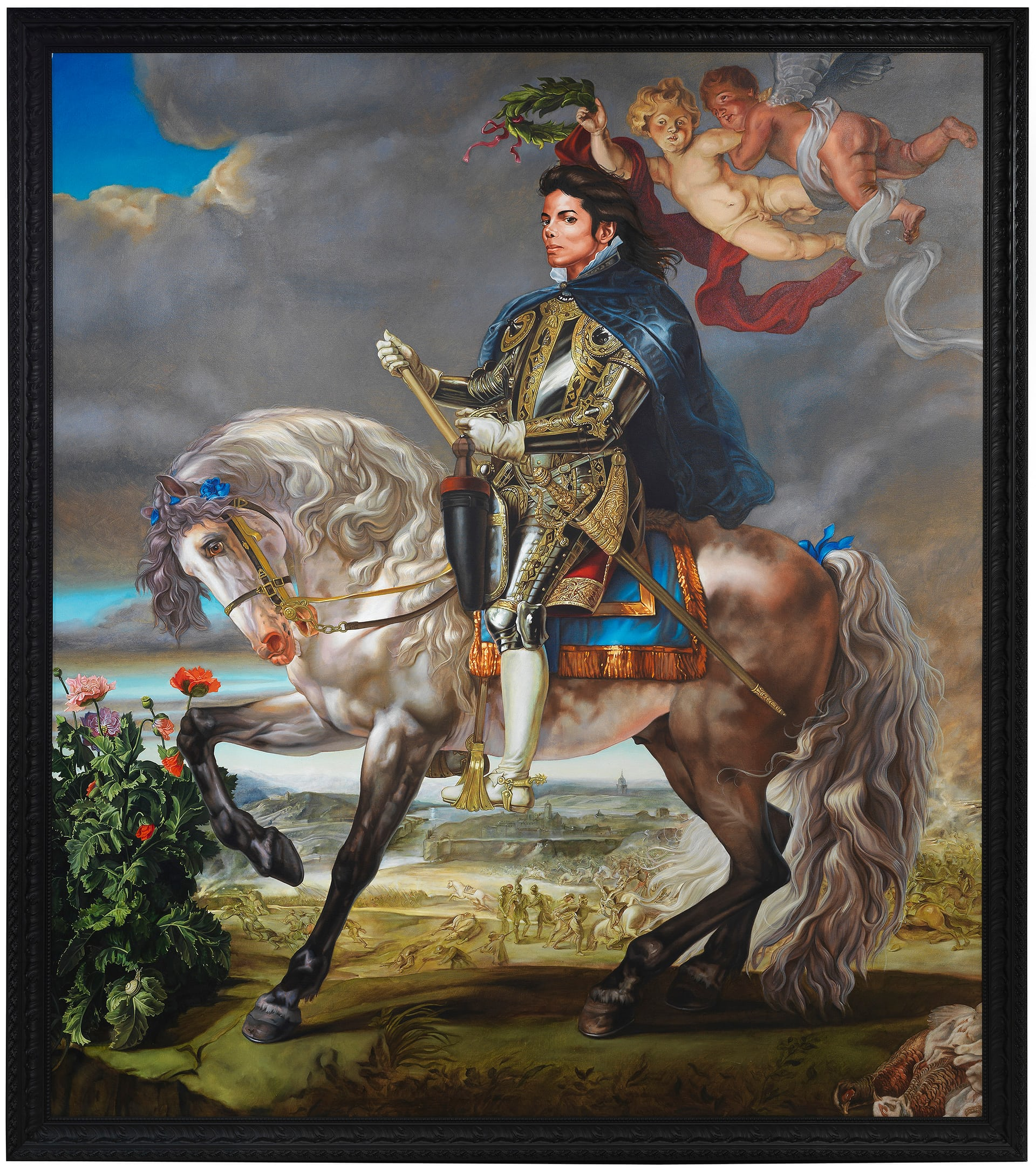 Kehinde Wiley's 'Equestrian Portrait of King Philip II
