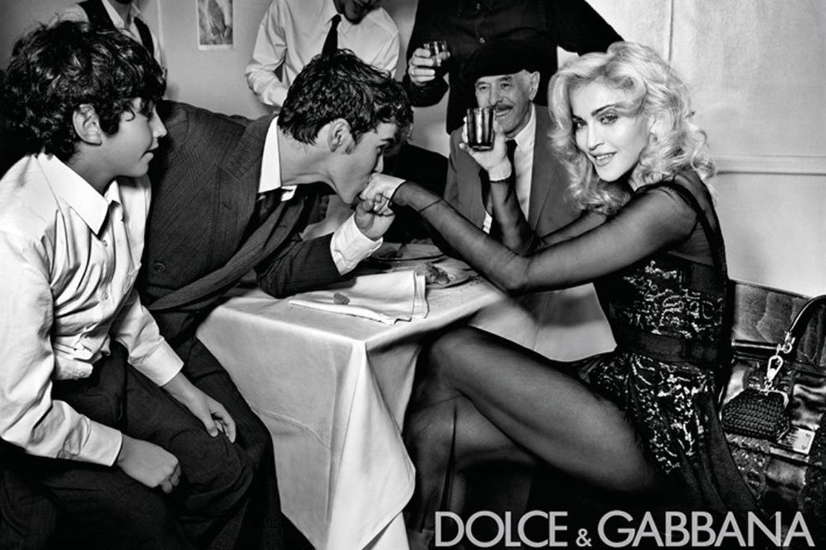 Madonna Dolce&Gabanna