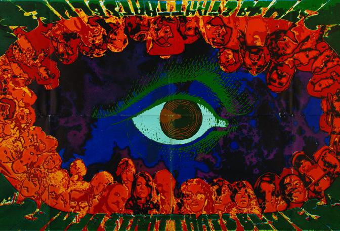 Psicodelia, la cultura visual de la era Beat
