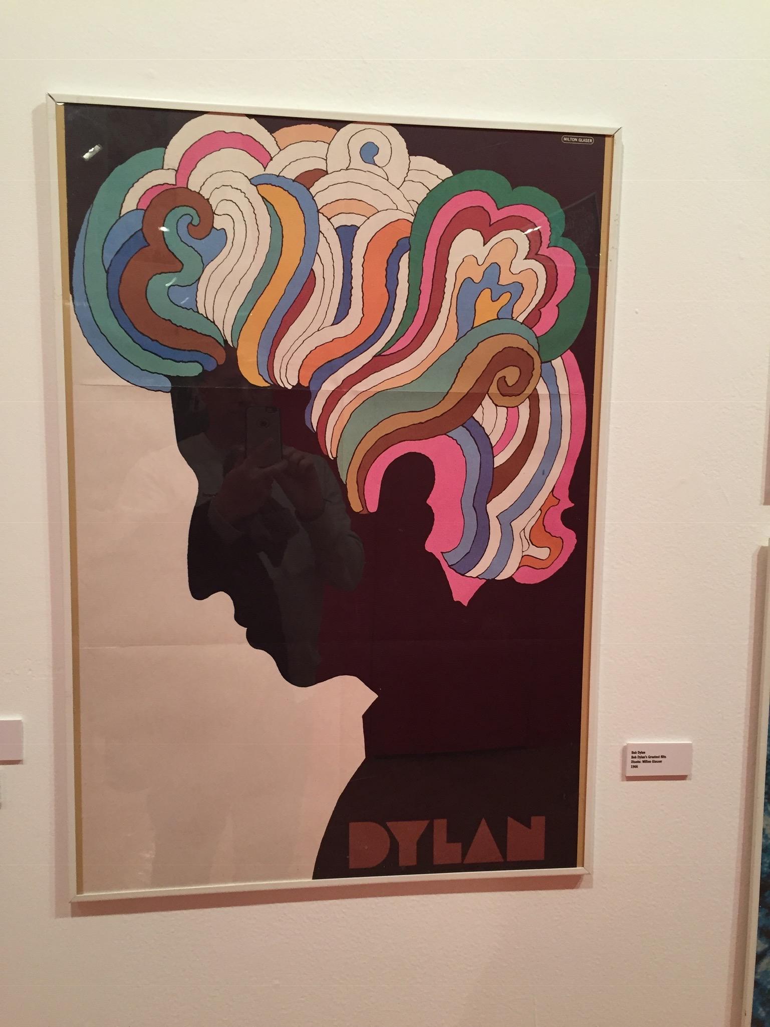 Dylan por Milton Glazer