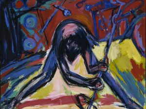 Helmut-Middendorf-Singer-1981-acrylic-on-canvas-175-x-220-cm