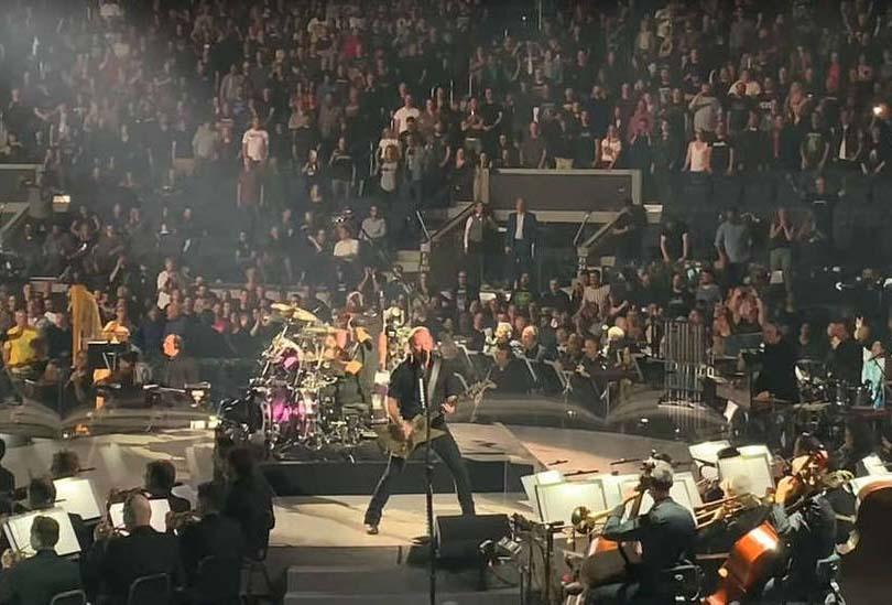 Metallica lleva su concierto sinfónico a los cines
