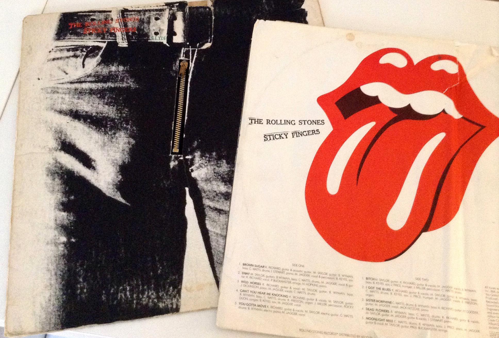 Portadas históricas: Sticky Fingers de The Rolling Stones