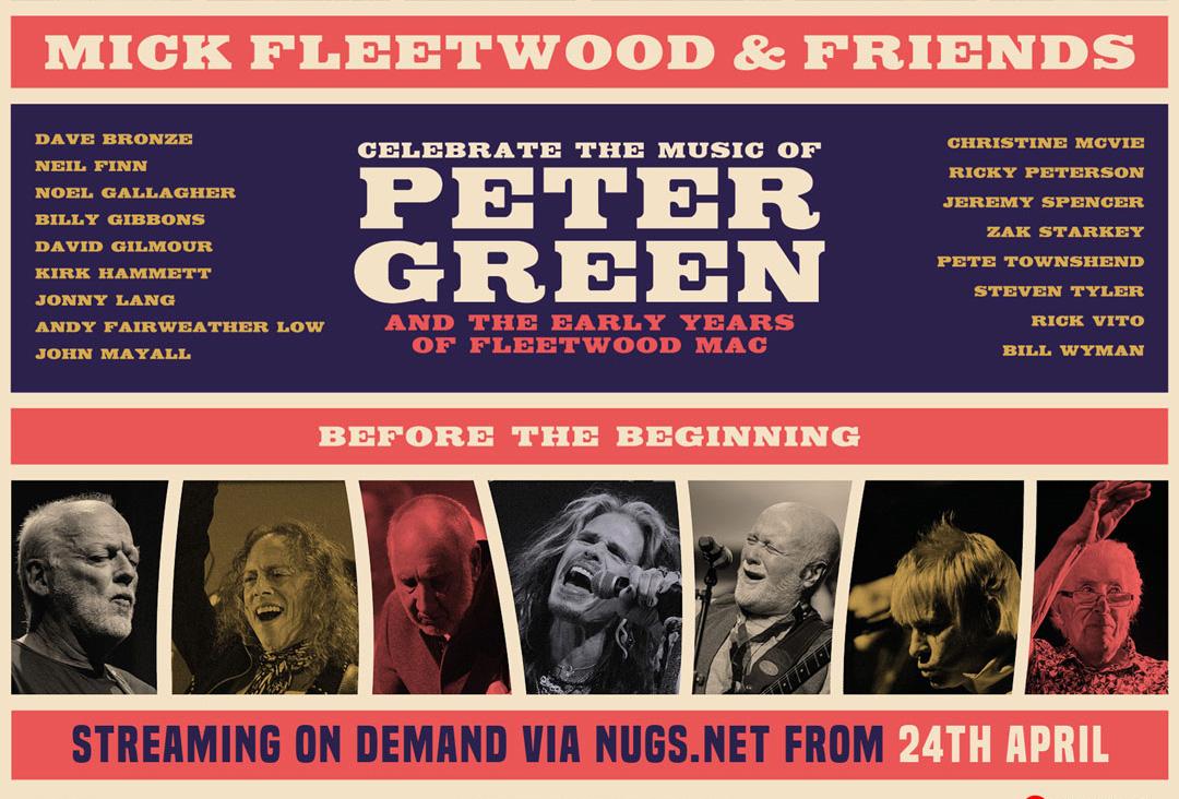 Tributo a Peter Green, el fundador de Fleetwood Mac