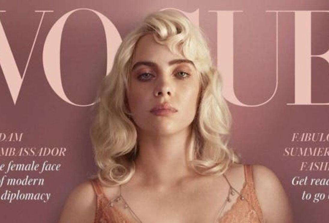 Nueva imagen de Billie Eilish para Vogue